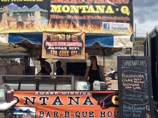 Montana Q Bar-B-Que House of Frenchtown, Mont., is competing for the first time at the 2015 Best in the West Nugget Rib Cook-off. Owners Tom Moua and Mary Hang founded Montana Q in 2010.