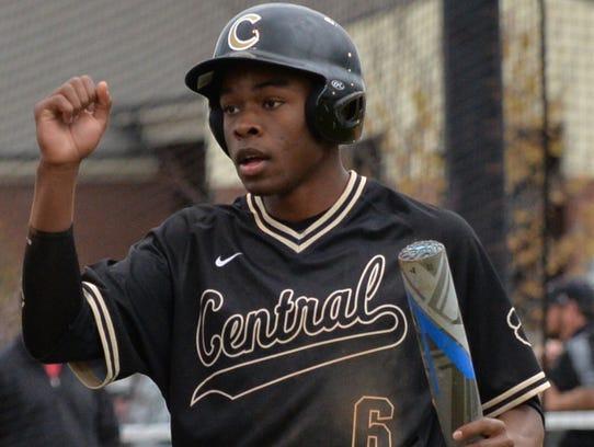 Central Magnet senior Jordan Jackson hit .362 with