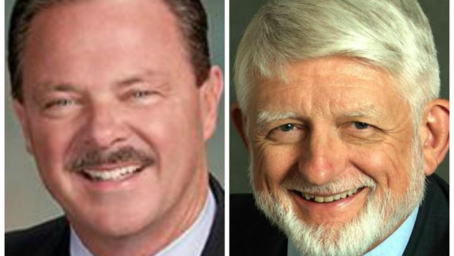 Incumbent Jim Lane and challenger Bob Littlefield are running for Scottsdale mayor.