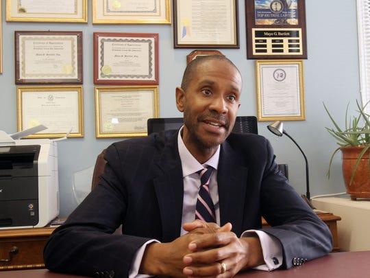 Mayo Bartlett, a defense attorney who handles many