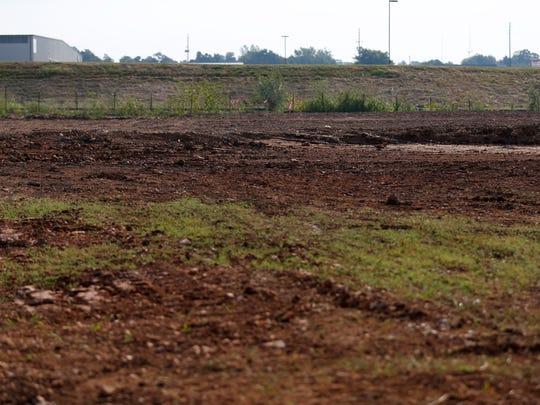 Work has begun on a piece of property near North Glenstone
