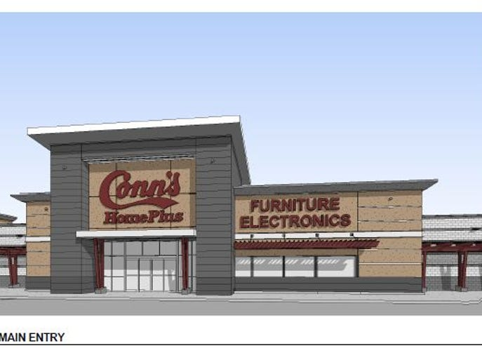 Conn's Home Plus furniture and electronics will bring its business to the recently vacant Toys 'R' Us building along South College Avenue in Midtown Fort Collins.