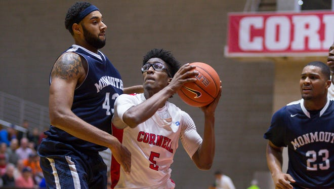 Cornell point guard Robert Hatter ranked third in the Ivy League in scoring (17.1 points per game) and sixth in assists per game (3.5) during the 2015-16 season.