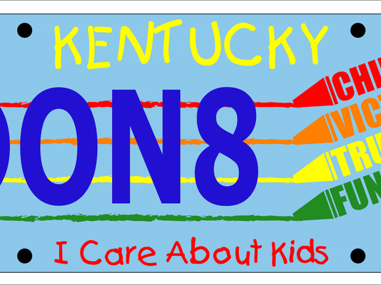 icareaboutkids-license-plate