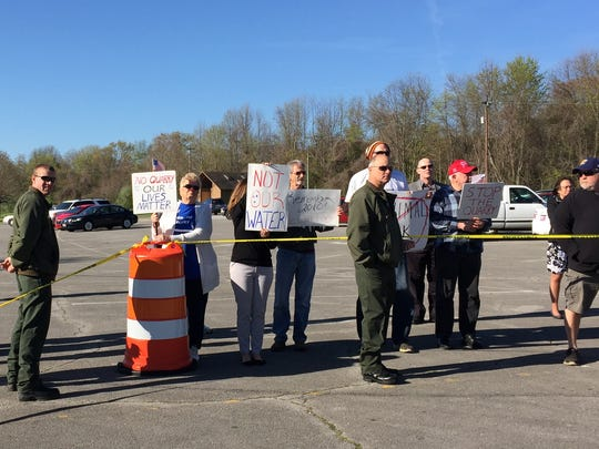 Old Hickory residents opposed to a proposed rock quarry