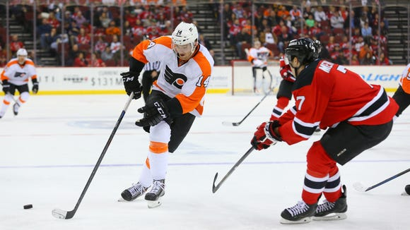 The Flyers lost to the Devils 5-2 in their last visit