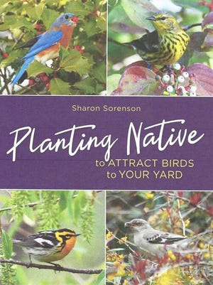 """Sharon Sorenson's new book """"Planting Native to Attract Birds to Your Yard"""" has just been released."""
