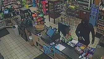 Police are searching for this male suspect, shown in a surveillance camera photo, in an armed robbery Wednesday at QuickChek, 107 Harris Ave., Middlesex Borough.