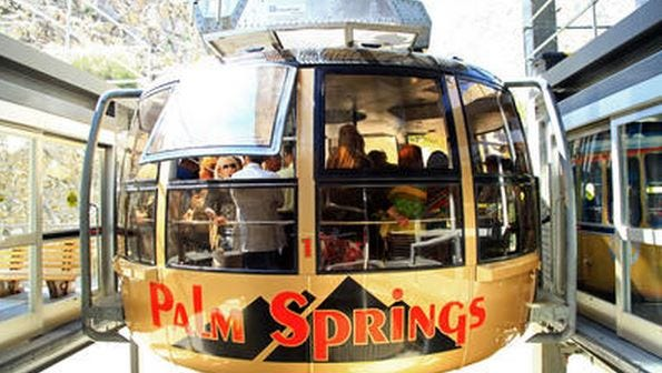 The Palm Springs Aerial Tramway will close for annual maintenance.