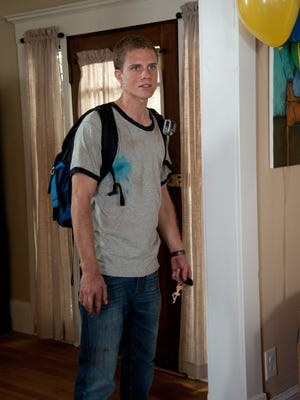 Jonny Weston brings an awkward charm to his role as David in ''Project Almanac.'