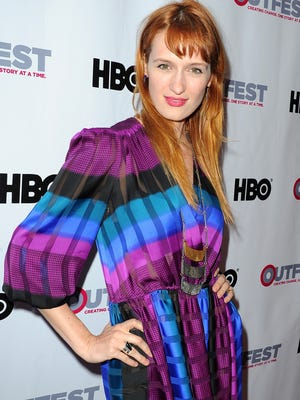 """LOS ANGELES, CA - JULY 09:  Actress Breeda Wool arrives at the opening night gala of """"Tig"""" at the 2015 Outfest Los Angeles LGBT Film Festival at the Orpheum Theatre on July 9, 2015 in Los Angeles, California.  (Photo by Joshua Blanchard/Getty Images) ORG XMIT: 563788493 ORIG FILE ID: 480171998"""
