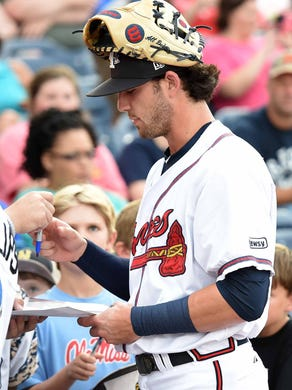 m braves dansby swanson shines on all star stage