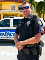 Marco Island Police Sergeant Mark Haueter poses for