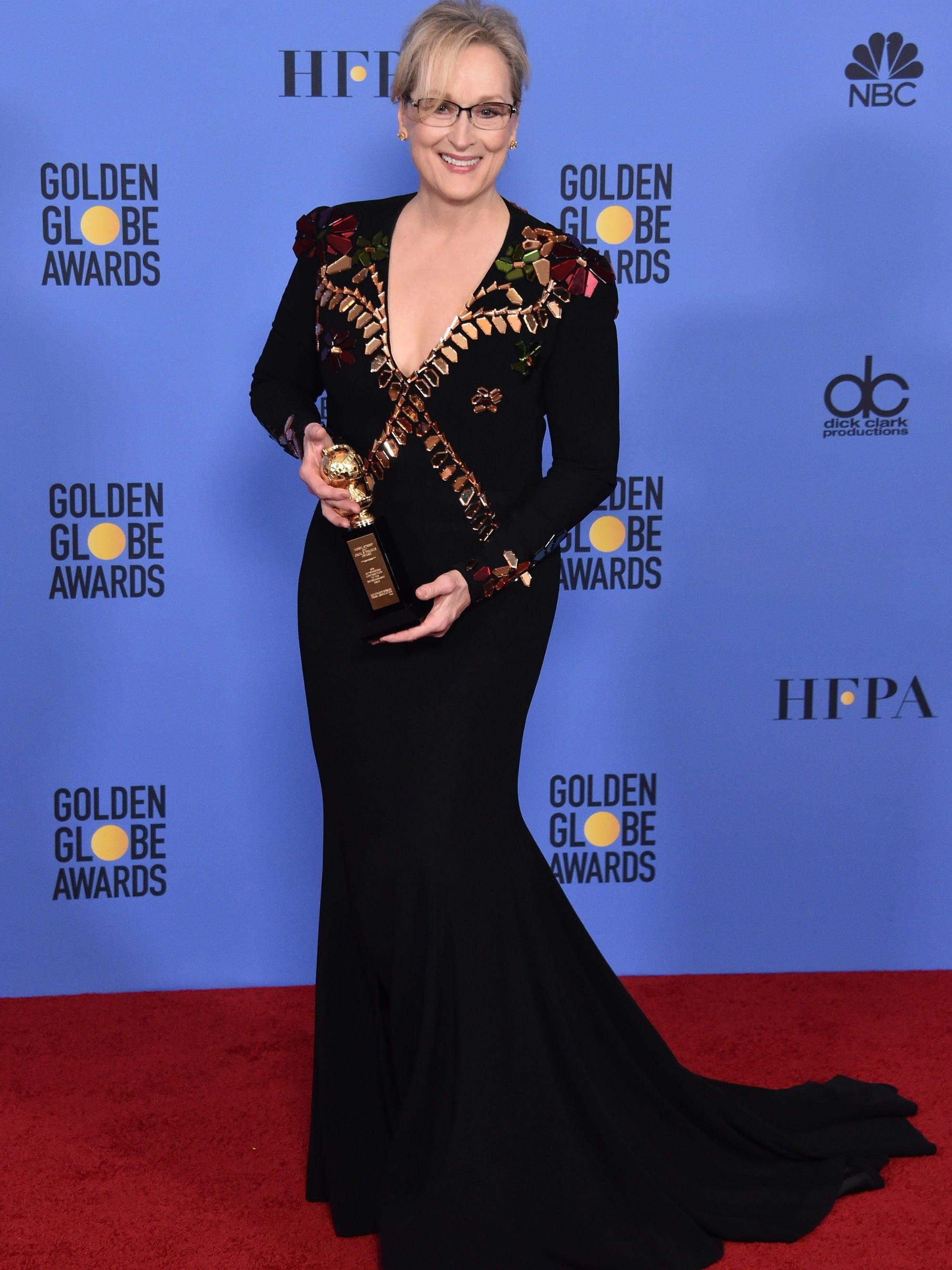 Meryl Streep ruined the Golden Globes