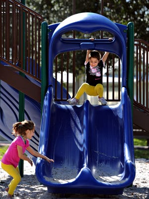 Martin County moms have some favorite play spaces where they enjoy spending time with their children. One of them is Kiwanis Park.