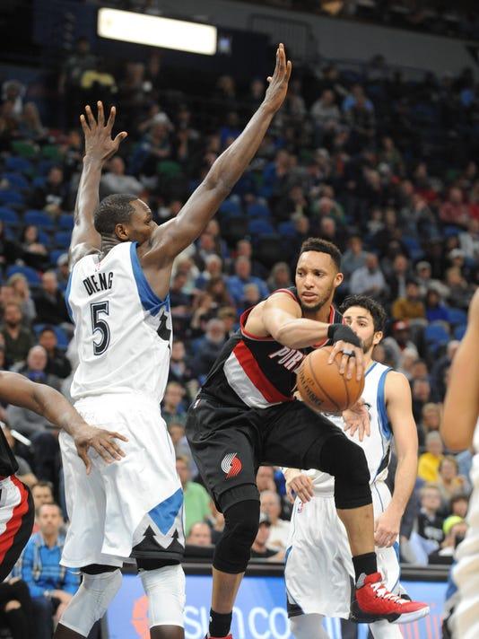 72d5c6cdc05 NBA  Portland Trail Blazers at Minnesota Timberwolves