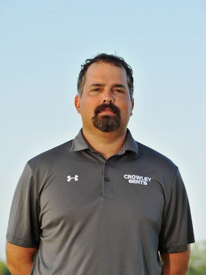 Josh Fontenot, a former coach at Crowley, now leads the Southside High School football team.
