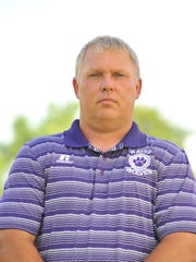 Rayne Wolves head coach Curt Ware