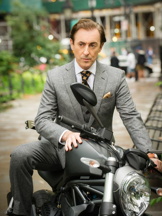 Alan Cumming is professor, author and spy in CBS drama 'Instinct.'
