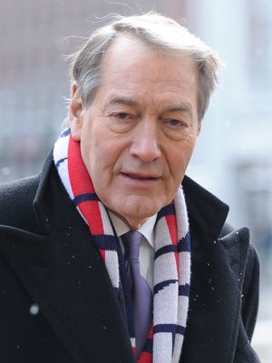 Charlie Rose, pictured in 2015, was fired by CBS in the wake of sexual harassment allegations by eight women. PBS also dropped his nightly talk show.