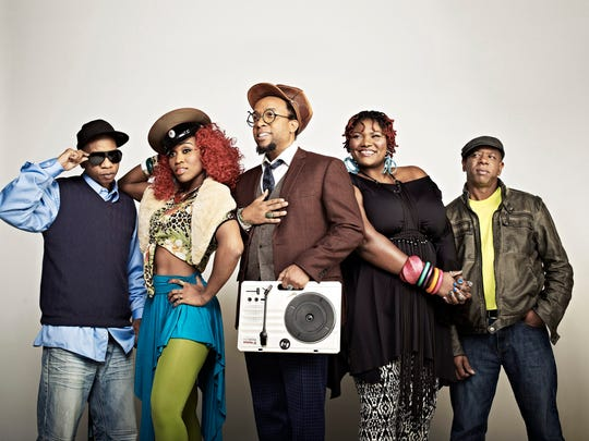 Hip-hop veteran Arrested Development headline a show Saturday at Waterfront Park.