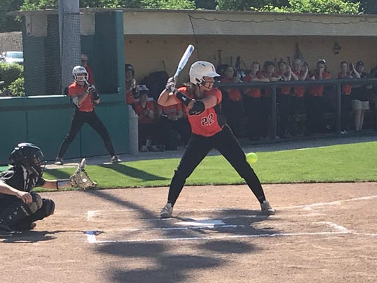 North Union softball Josie Duncan