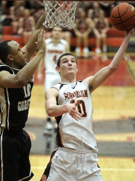 York Suburban's Ted Hinnenkamp earned a PIAA Class AAA third-team all-state selection this week.