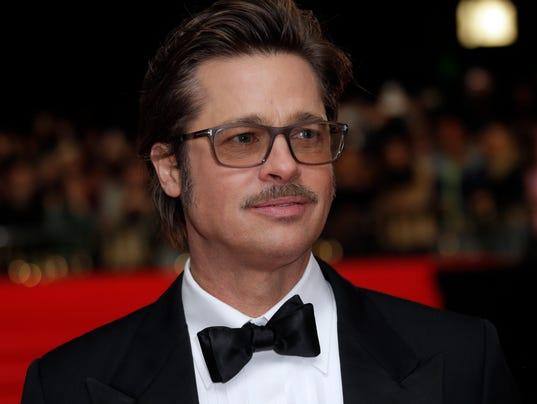 Brad Pitt in October 2014 in London. (Photo: Joel Ryan/Invision/AP)