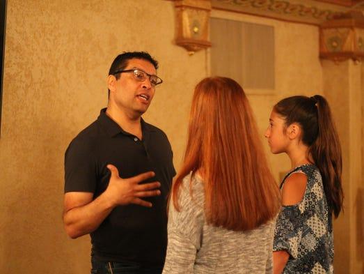 Eli Villanueva, resident stage director for education