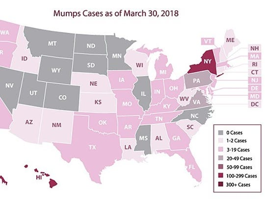 From Jan. 1 to March 30, 2018, 39 states  and the District