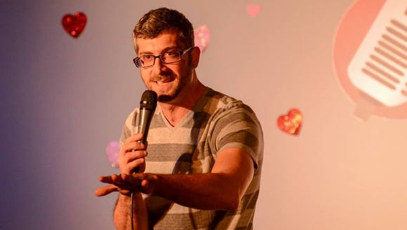 New York comedian Sal Coladonato is one of the 30 comedians