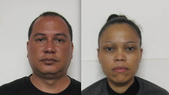 Manuel Joaquin Perez, left, and Renee Marie Villanueva Perez are shown in this combined photo.
