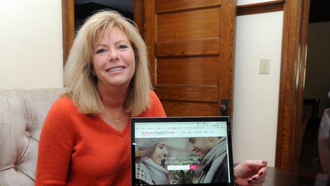 Michelle Lobdell started a website, RomanceMadeEZ.com, in September to help men be better partners in their marriages.