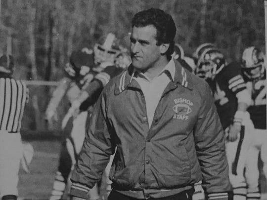 Asbury Park head coach George Conti Jr. led the Blue