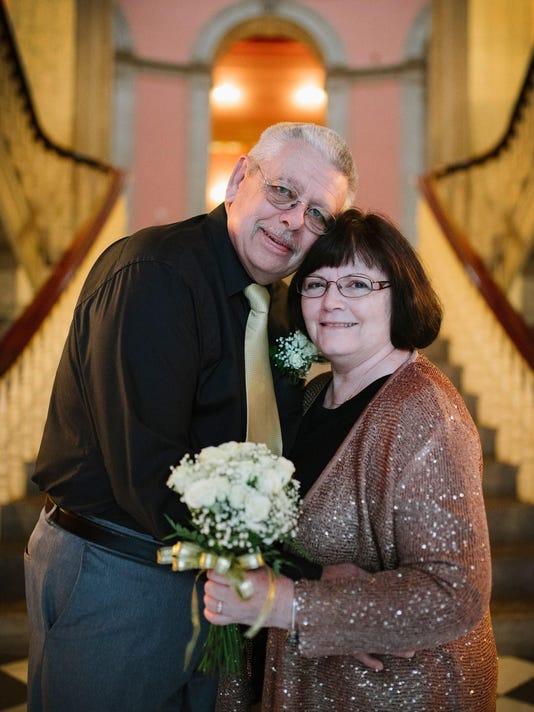 Mr & Mrs Newell - 50 Years