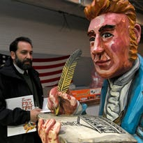 'Free the Carousel': Artist rallies to resurrect the old Red Grooms riverfront ride