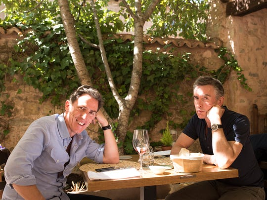 Steve Coogan, left, and Rob Brydon play heightened
