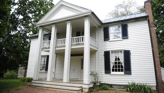 Sam Davis Home in Smyrna in 2013.