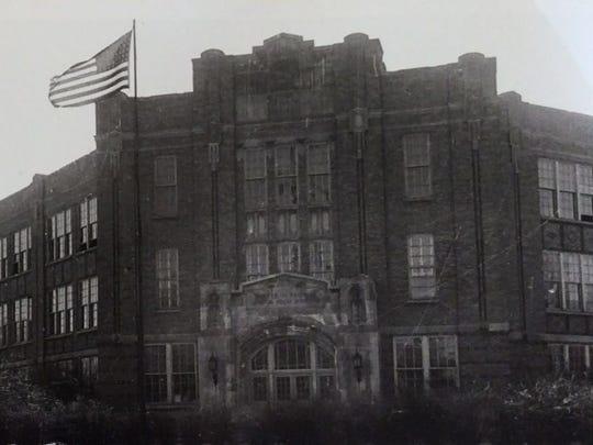 Walter French Junior High School, undated photo.