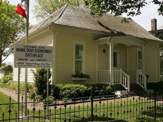 The Mamie Doud Eisenhower Birthplace, 709 Carroll St.
