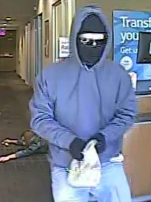 A $10,000 reward was being offered for information leading to the arrest and conviction of Calabasas bank robbers known as the County Line Bandits, officials said.