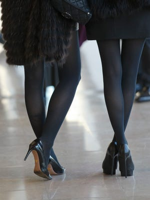 Viewers at a fashion show