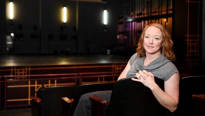 Rae Geoffrey, managing director of the Diana Wortham Theatre, July 24, 2017.