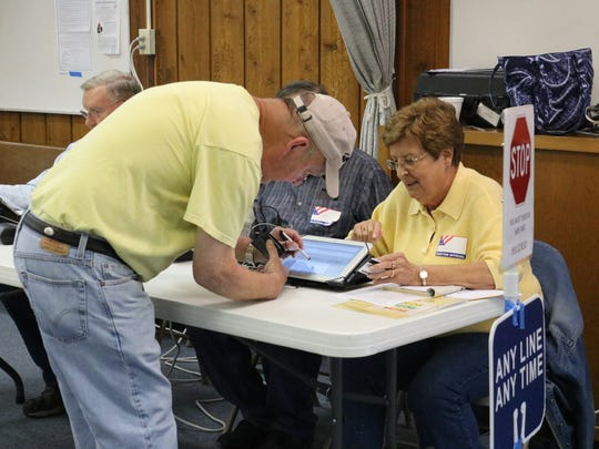 Ottawa County voters took to the polls to decide on