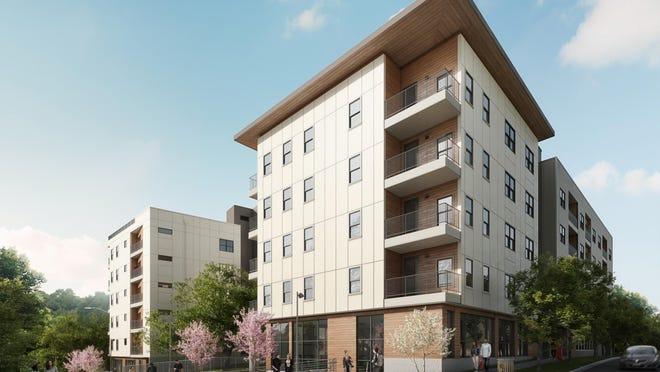 Pearlstone Partners plans to break ground Monday on the Cascade Condominiums at West 25th and Longview streets. The project will have 113 condominiums and two commercial units.