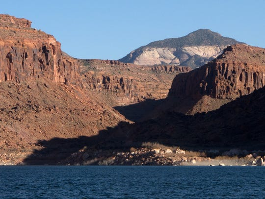 The Lake Powell Pipeline would draw water from the lake to thirsty the St. George metro area.