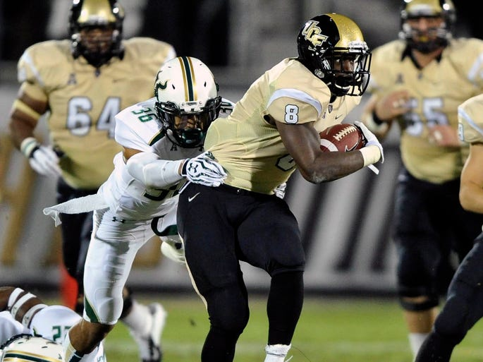 Central Florida Knights (10-1, 7-0): Beat SMU on Saturday and qualified for a BCS berth by virtue of Louisville's loss Thursday.