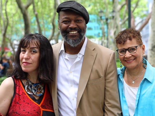 Saviana Stanescu, Godfrey Simmons, and Judy Tate of