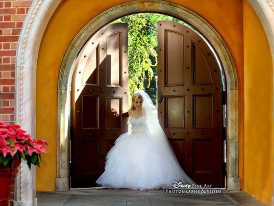 Paraplegic Bride Walks on Wedding Day
