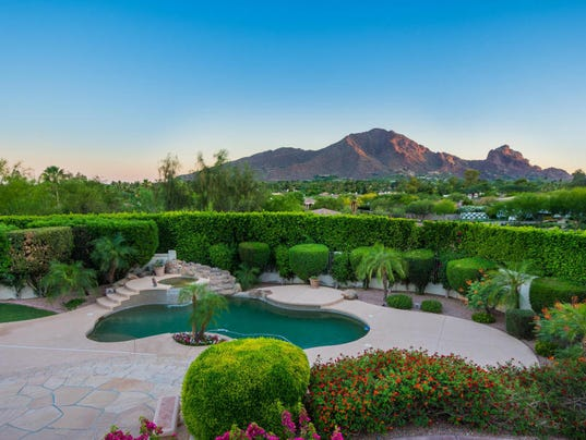 Luxury homes: $2.3M PV home features lush backyard oasis